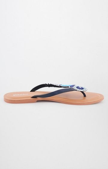 Global Desi | Blue Flip Flops