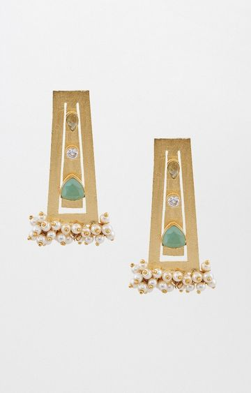 Global Desi | Gold Dangle and Drop Earrings