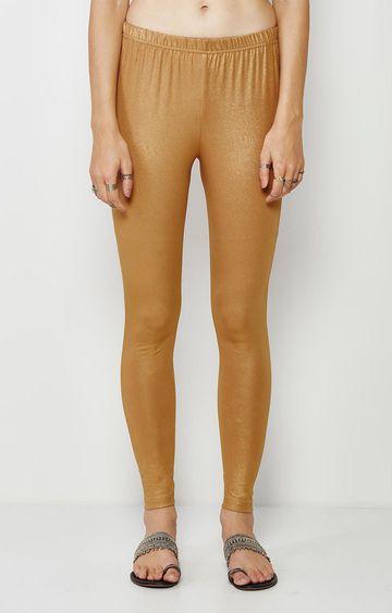 Global Desi | Copper Solid Leggings