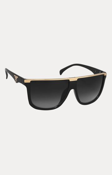 Laurels | Gold Square Sunglasses