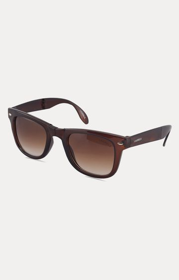 Laurels | Brown Foldable Wayfarers