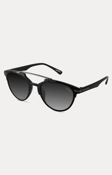Laurels   Black Round Sunglasses