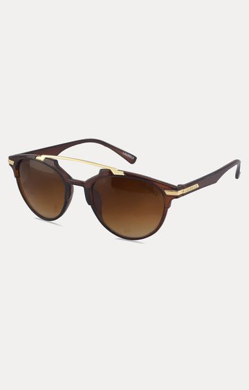 Laurels | Brown Round Sunglasses