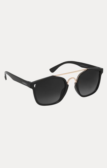 Laurels | Black Square Sunglasses