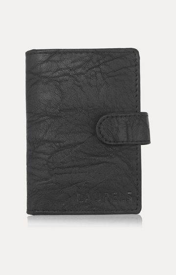 Laurels | Black Card Case