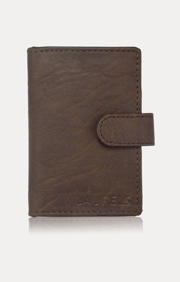 Laurels | Brown Card Case