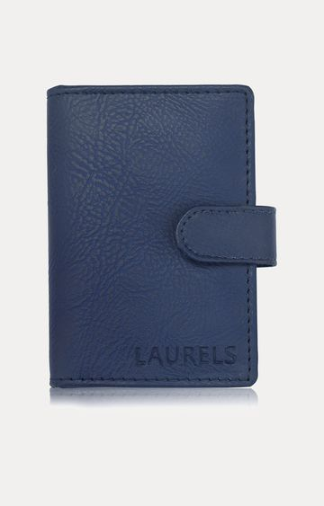Laurels | Blue Card Case