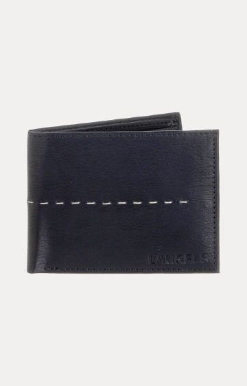 Laurels | Black Wallet