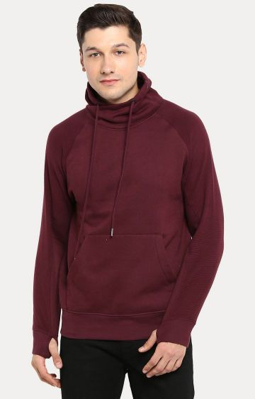 RED CHIEF | Wine Solid Sweatshirt