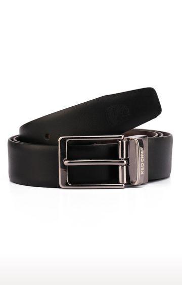 RED CHIEF | Black Reversible Belt