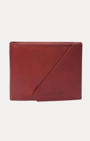 RED CHIEF | Maroon Wallet