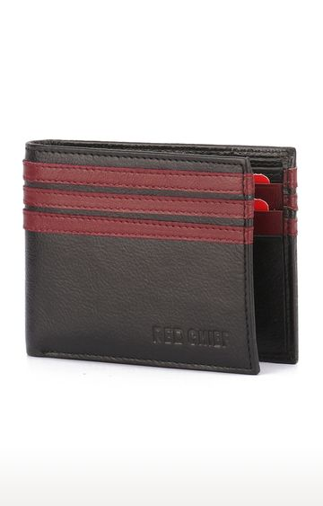 RED CHIEF | Black Wallet