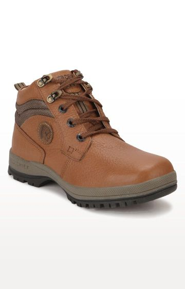 RED CHIEF | Brown Hiking Shoes
