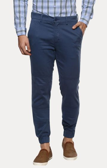 RED CHIEF | Blue Tapered Chinos