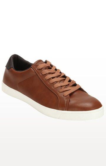 celio   Tan Sneakers