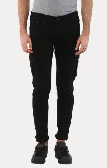 celio | Joskargo Black Straight Jeans