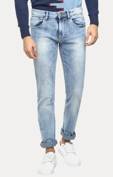 celio | Blue Solid Straight Jeans