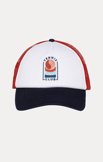 celio | Red Embroidered Baseball Cap