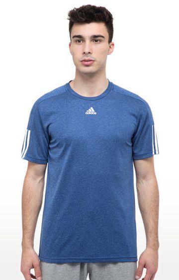 adidas | Blue Melange T-Shirt