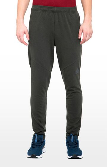 adidas | Grey Solid Wo Prime Trackpants