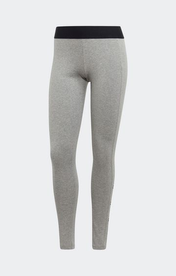 adidas | adidas Grey Melange W Stacked Tights