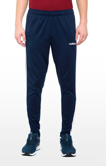 adidas | adidas Blue Solid M Cls Trackpants