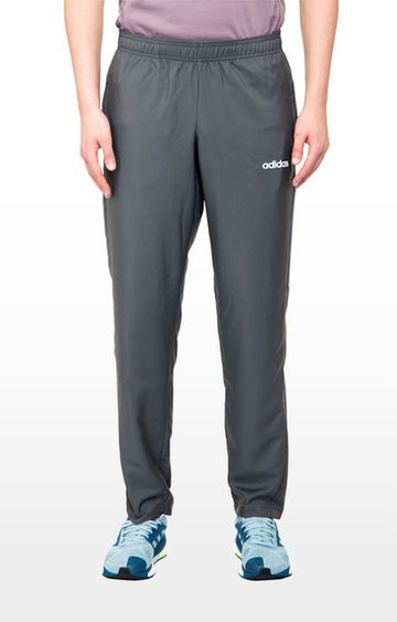 adidas | adidas Blue Solid M D2M Wv Trackpants