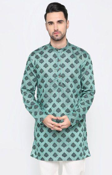 Showoff | Green Printed Kurta
