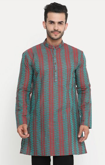 Showoff | Green Printed Kurta