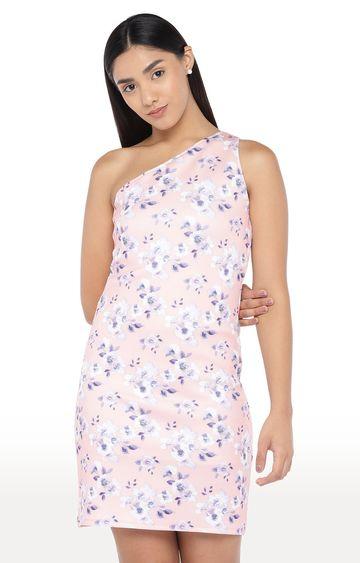globus | Pink Floral Shift Dress