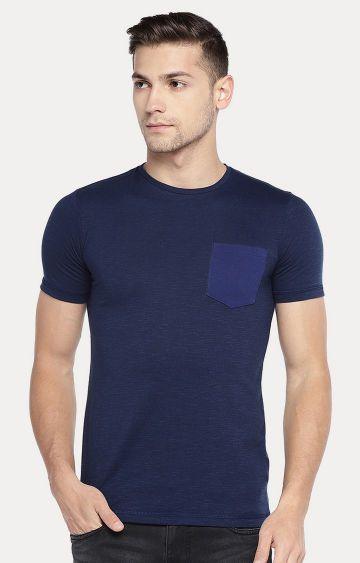 globus | Navy Melange T-Shirt