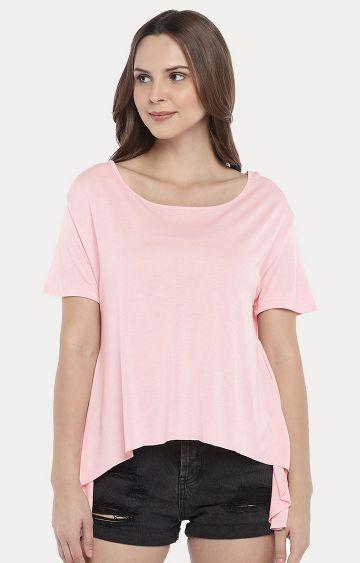 globus | Pink Melange Top