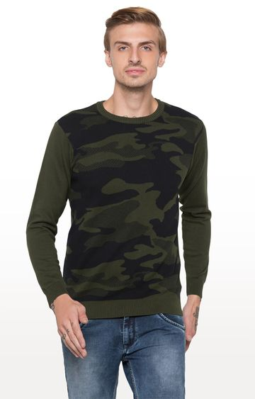globus | Green Printed T-Shirt