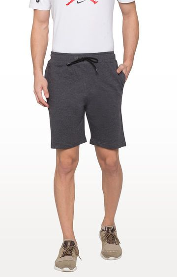 globus | Grey Solid Shorts