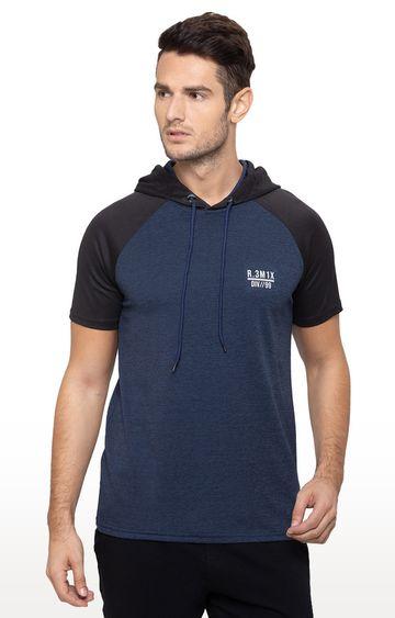 globus | Blue Solid T-Shirt