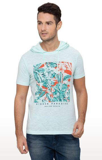 globus | Green Printed T-Shirt