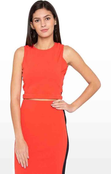 globus | Orange Solid Top