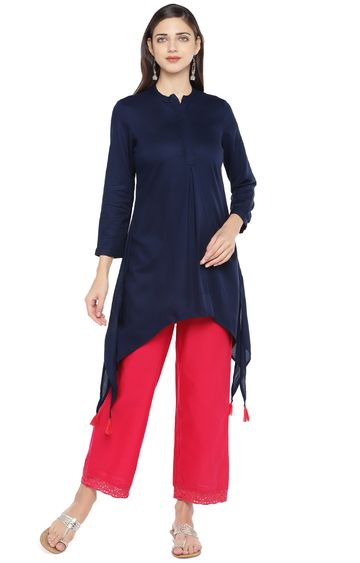 globus | Blue Solid Tunic