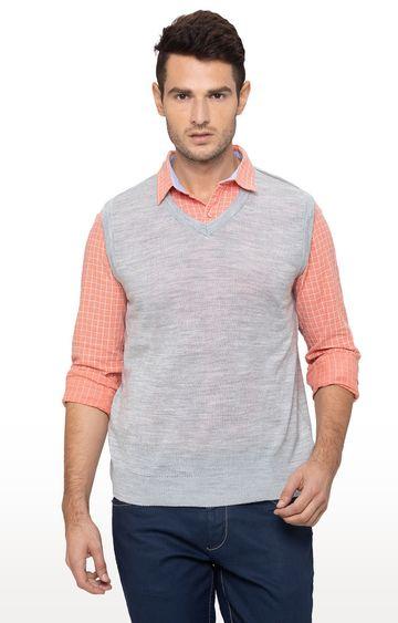 globus   Grey Melange Sweater