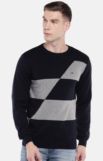 globus | Navy Melange Sweatshirt