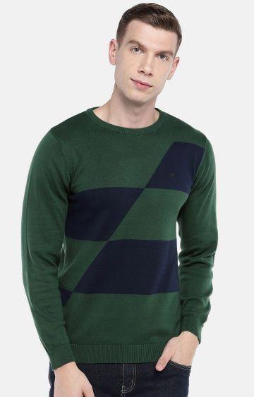 globus | Green Solid Sweatshirt