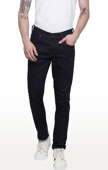 spykar | Spykar Raw Blue Solid Super Skinny Fit Jeans