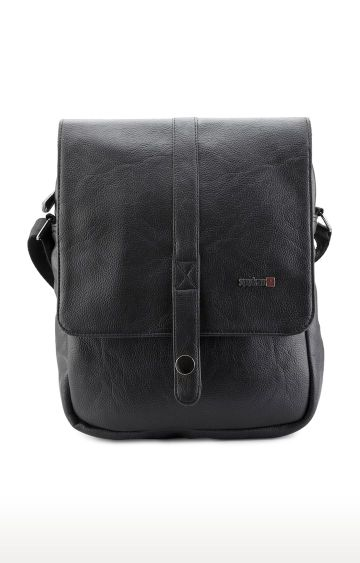 spykar | Spykar Black Messenger Bag