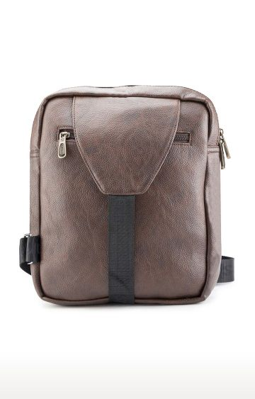 spykar | Spykar Brown Messenger Bag