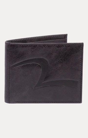 spykar | Spykar Dark Brown Leather Wallets