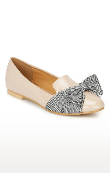 Truffle Collection   Beige Loafers