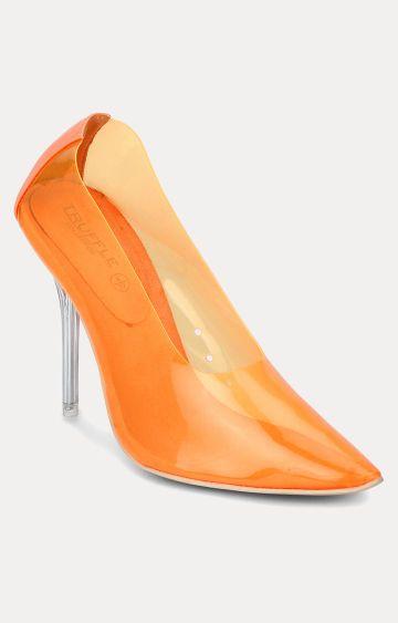 Truffle Collection | Orange Stilettos