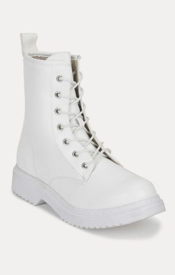 Truffle Collection | White Boots
