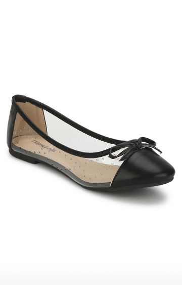 Truffle Collection | Black Ballerinas
