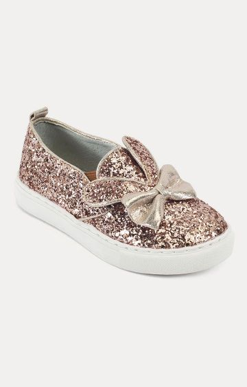 Truffle Collection | Rose Gold Sneakers